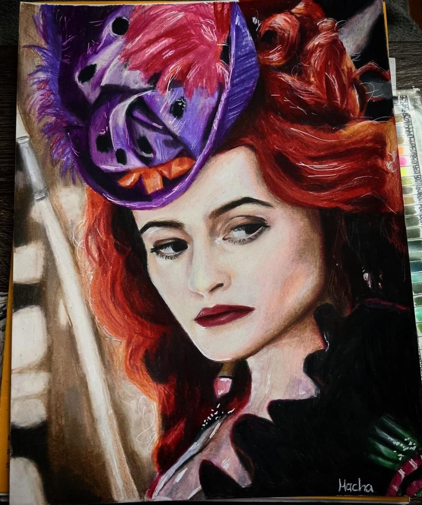 Helena Bonham Carter por Macha